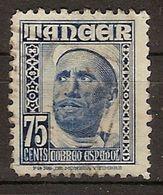 Tanger U 160 (o) Personajes. 1948 - Marruecos Español