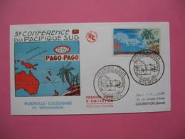 FDC   Nouvelle-Calédonie     1962     N°  305 - FDC