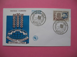 FDC   Nouvelle-Calédonie     1963     N°  307 - FDC