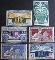 Lot FD/954 - 1924 - EXPO ARTS DECO PARIS (SERIE COMPLETE) N°210 à 215 NEUFS* - Cote : 28,00 € - France