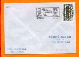 ARMEES, BPM 530, Flamme SCOTEM N° 12010, 8e Groupe De Chasseurs à Wittlich, 40 Ans - Storia Postale