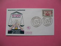 FDC   Nouvelle-Calédonie     1963     N°  313 - FDC