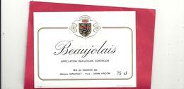 BEAUJOLAIS . MIS EN BOUTEILLE PAR MAISON GIRARDET . 25 . ARCON - Beaujolais