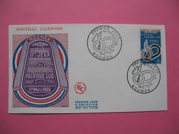 FDC   Nouvelle-Calédonie     1966     N°  328 - FDC