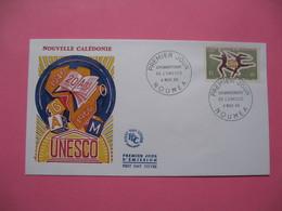 FDC   Nouvelle-Calédonie     1966     N°  329 - FDC