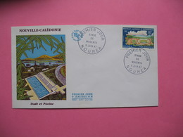 FDC   Nouvelle-Calédonie     1968     N°  337 - FDC