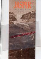 CANADA-DEPLIANT TOURISTIQUE JASPER  -NATIONAL PARK-1949-ALBERTA- SNOW DOME GLACIER-ATHABASKA RIVER-MALIGNE LAKE- - Dépliants Touristiques