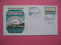 FDC   Nouvelle-Calédonie     1970     N°  366 - FDC