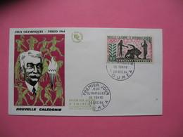 FDC   Nouvelle-Calédonie     1964     N°  PA 76 - FDC