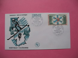 FDC   Nouvelle-Calédonie     1967     N°  PA 96 - FDC