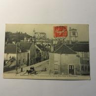 89 - TONNERRE - Vue Des églises St Pierre Et Notre Dame En 1908 - Tonnerre