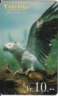 SWITZERLAND - Bird, Teleline Prepaid Card Fr. 10, Exp.date 31/03/01, Used - Vögel