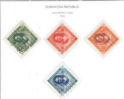 Rep.Dominicana PO 1940 Maria Trujiillo Scott.358/361+Used See Scans On Scott.Page - Repubblica Domenicana