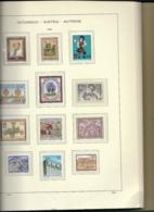 Austria MNH Collection 1960-1989 In Schaubeck Album - Collezioni (in Album)