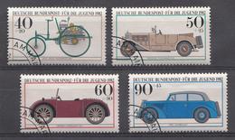 Allemagne Féd.1982 Mi.Nr: 1123-1126  Historische Kraftfahrzeuge  Oblitèré / Used / Gebruikt - [7] République Fédérale