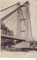 Cpa Aramon  Le Pont - Aramon