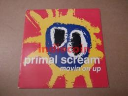 45T PRIMAL SCREAM Movin' On Up 1991 FR 7 Single Promo - Vinyl Records
