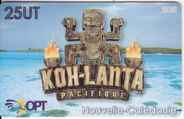 NEW CALEDONIA(chip) - KOH-LANTA Pacifique, Tirage 45000, Used - New Caledonia