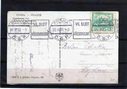 194-CZECHOSLOVAKIA-1920-DOPISNICE -POSTCARD - Tchécoslovaquie