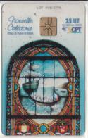 NEW CALEDONIA(chip) - Vitraux De Balade, Transparent Telecard, Tirage 10000, 09/04, Used - New Caledonia