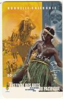 NEW CALEDONIA(chip) - Festival Des Arts Du Pacifique 2, Tirage 10000, 10/00, Used - New Caledonia