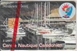 NEW CALEDONIA(chip) - Cercle Nautique Caledonien, Tirage 3000, 12/94, Mint - New Caledonia