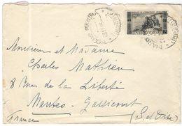 ITALIA - ITALY - ITALIE - 1955 - 25 Basilica Di San Francesco - Assisi - Isolato - Viaggiata Da Diano Marina Per Mantes- - 6. 1946-.. Repubblica