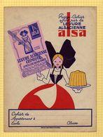 PROTEGE CAHIER  :Levure Alsacienne ALSA - Protège-cahiers