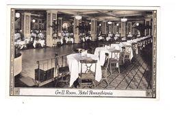 USA NY New York Hotel Pennsylvania Grill Room Restaurant - Cafés, Hôtels & Restaurants