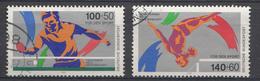 Allemagne Féd.1989 Mi.Nr: 1408-1409 Sporthilfe  Oblitèré / Used / Gebruikt - [7] République Fédérale