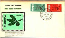 88678) Irlanda-fdc-europa Cept 1965- 27/9/1965-serie Completa - FDC