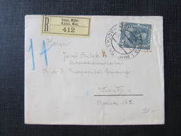 R-BRIEF Gaya - Wien 1916 /// D*30632 - 1850-1918 Imperium