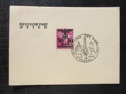 GEDENKBLATT General Gouvernement 1940 Krakau Deutsche Post Osten  /// D*30635 - Deutschland