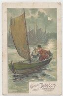 Fantaisie Publicitaire Cacao Bensdorp Amsterdam - Bateau Voile - Werbepostkarten