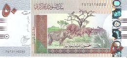 Sudan - Pick 75 - 50 Pounds 2017 - Unc - Sudan