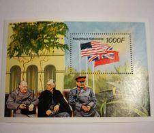 Bloc Churchill + 2em Guerre+ Gabon - WW2