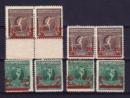 België, 1921, Kleine Verzameling Nr 184 En 186 */** Zeer Mooi Lot K700,  KOOPJE - Francobolli