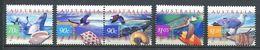221 AUSTRALIE 1999 - Yvert 1757/61 - Coquillage Oiseau - Neuf ** (MNH) Sans Trace De Charniere - 1990-99 Elizabeth II