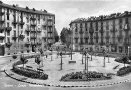 "07309 ""TORINO - LARGO MOONTEBELLO - NUOVO GIARDINO  - SACAT"" ANIMATA. CART. ORIG. NON SPED. - Multi-vues, Vues Panoramiques"