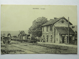 CPA (54) Meurthe Et Moselle - MOIVRON - LA GARE - Sonstige Gemeinden