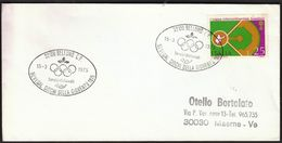Italy Belluno 1975 / Nevegal Youth Games / Olympic Rings / Baseball - Sonstige