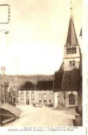 89 PAROY-EN-OTHE - L'Eglise Et La Place - Frankrijk