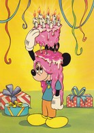 Postcard Mickey With Icing Walt Disney Productions / Camden Graphics My Ref  B22388 - Disney