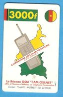 CAMEROON Chip Phonecard - Cameroon