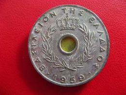 Grèce - 20 Lepta 1959 7614 - Grecia