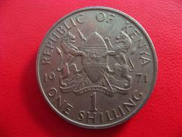 Kenya - 1 Shilling 1971 7624 - Kenya