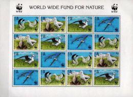 WWF Tristan Da Cunha 2009 Stamps Wandering Albatross Birds MNH - Marine Web-footed Birds