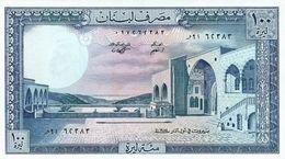 Líbano - Lebanon 100 Livres 1985 Pick 66.c UNC - Líbano