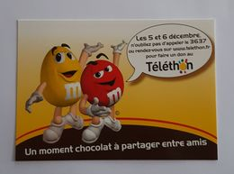 TELETHON    CHOCOLAT MMS - Chocolate