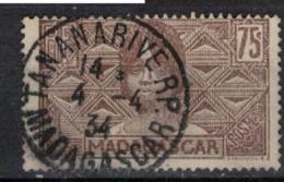 MADAGASCAR       N° YVERT  :    173      (  20 )          OBLITERE       ( S D ) - Madagascar (1889-1960)